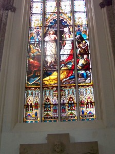 Church window in Rostock