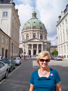 "Marci at the ""Marble Church"" Copenhagen"