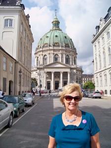 "Marci at the ""Marble Church"" Copenhagen"