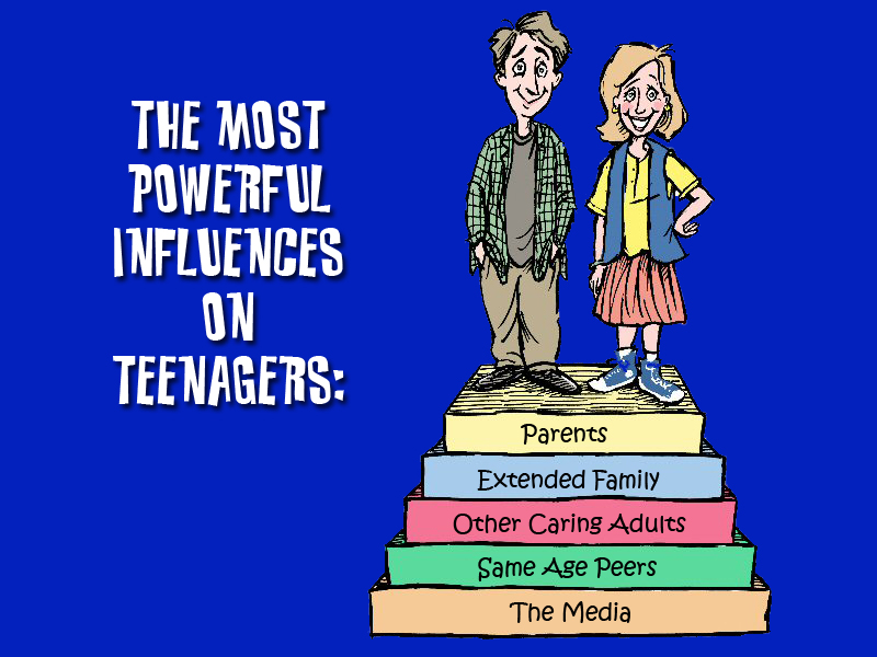 media influences on youth Media is a vast form of communication that permeates nearly every aspect of modern culture teenagers are exposed to all sorts of media outlets, from television.