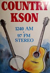 KSON poster 1980s
